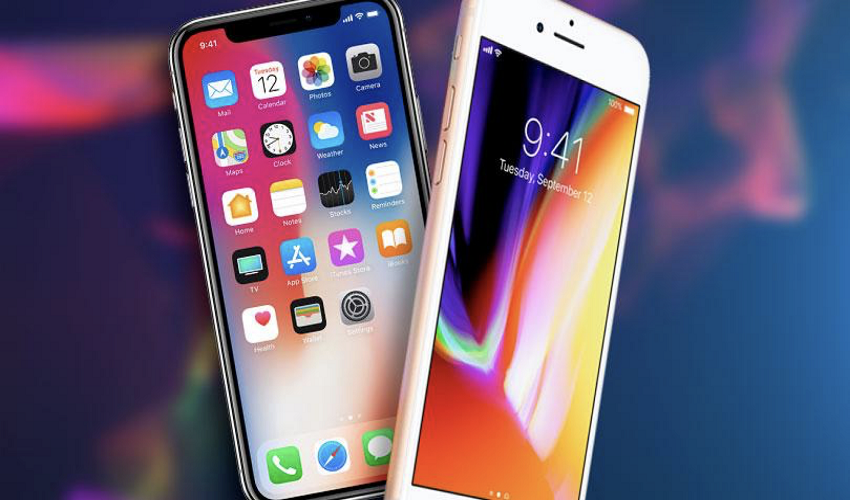 A Comparison Between iPhone X and iPhone 8